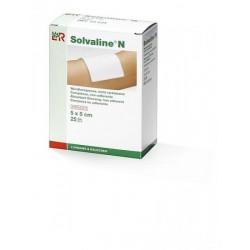 Solvaline® N Compresse faiblement adhérente 5 x 5 cm, sterile