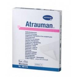Atrauman compresse impregnees 5 x 5 cm, 10 pces