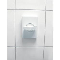 distributeur mural pour sachets hygienique blanc 140 x 95 x 26 mm