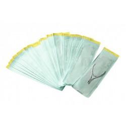 Sachets pour istruments steriles auto adhesive 200 pcs 130 mm x 254 mm