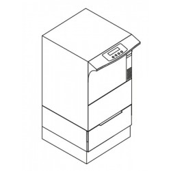 base de l'armoire pour  MELAtherm thermodésinfecteur