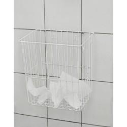 panier poru dechets (papier) blanc