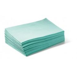 serviettes vert 500 pc 33 x 46 cm