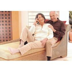 Gilofa med chaussettes pour diabetiques beige 39-41
