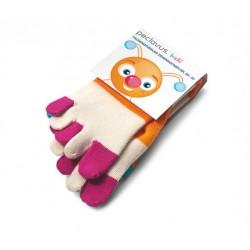 peclavus® kids paire de chaussettes chauffante et dousse aux couleur tailles 25-32