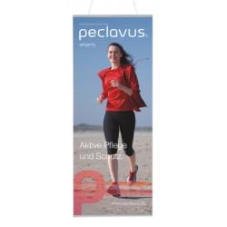Fiche publicitaire (60 x 150 cm) peclavus® SPORT