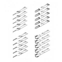 Kit lames de gouge 20 pcs/Fig. 1,2,5,10
