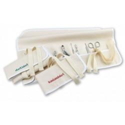 """Pochette en tissu pour rangement d'instruments """"contamine"""""""