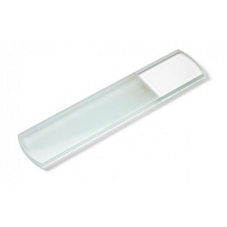 lime ponce en verre, 165 x 35 x 5 mm/des deux côtés