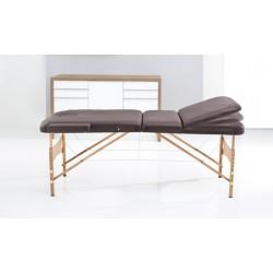 Ruck Massageliege mobil, table de massage marron
