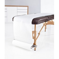 porte rouleau papier medical en acier inoxidable