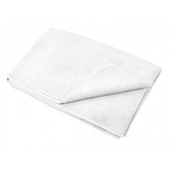 couvre microfibre blanc 150 x 200 cm