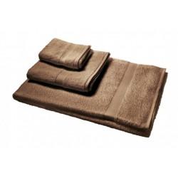 serviette marron 100 x 150 cm