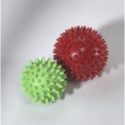 balle en gel rouge, 9 cm