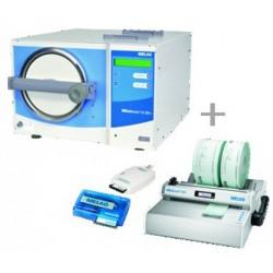 MELAG kit MELAtronic 15 EN+, MELAseal 100+ Folienschweißgerät und MELAflash CF-Karten-Schr