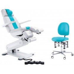 Ensemble chaises PODOLOG® STELLA 3 bi couleurs