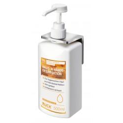 fixation murale pour liquide lave mains  500 ml/1000 ml