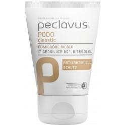 peclavus® PODOdiabetic Crème pour les pieds Silver