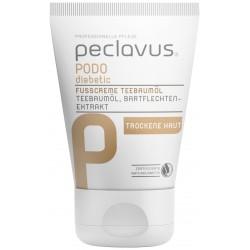 peclavus® PODOdiabetic Crème pour les pieds huile d'arbre à thé