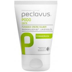 peclavus® PODOcare creme deo pieds silver