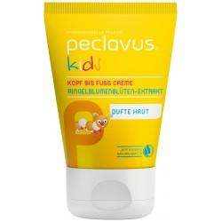 crème peclavus® pour enfants, de la tête aux pieds