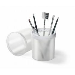 boite pour pinceaux transparente