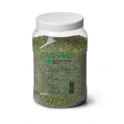 RUCK-COSMETICS Perles de cire chaude vert 500g