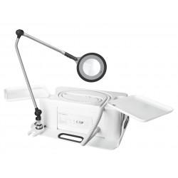 RUCK MOBILSYSTEM fraiseuse avec ECO  Lampe loupe WHITE EDITION