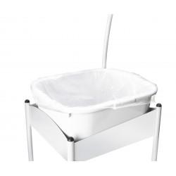 sac transparent pour bassin 50 pièces 45,5x 34 cm