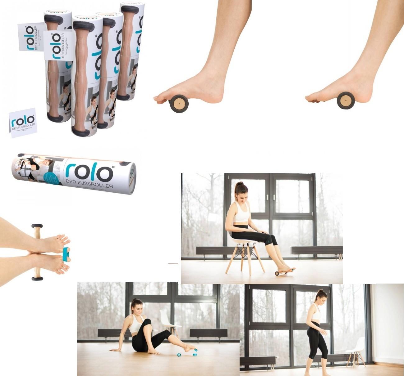 RUCK® rolo rouleau pour masser les pieds